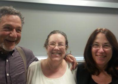 Laurie Holmes with Linda & George Pransky